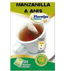 FLORALP'S NATURA - MANZANILLA & ANÍS (Infusión)