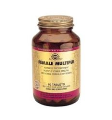 SOLGAR - FEMALE MULTIPLE - WOMEN (Skin Care & Weight loss)