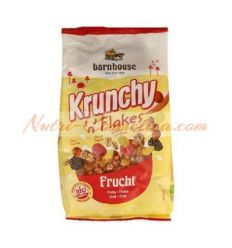KRUNCHY FLAKES FRUTAS 375 Grs.