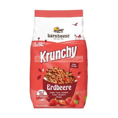 KRUNCHY FRESAS (CON ACEITE DE GIRASOL) 375 Grs.