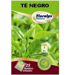 FLORALP'S NATURA - TÉ NEGRO (Infusión Antioxidante & Estimulante)