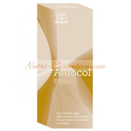 AUROCOL TOPICO (ORO COLOIDAL 5 PPM) 100 ml.