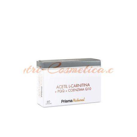 ACETIL L-CARNITINA + PQQ + Q10 60 Caps.