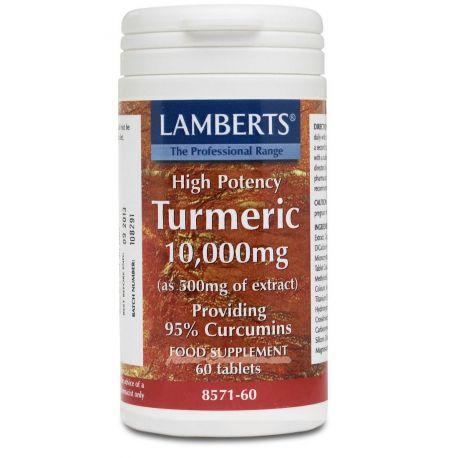 LAMBERTS – CÚRCUMA TURMERIC (ANTIOXIDANTE-ANTICANCERIGENO)