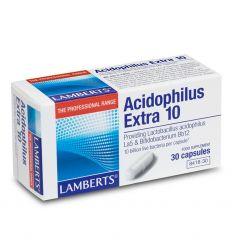 LAMBERTS – ACIDOPHILUS EXTRA 10 (Intestinal Flora)