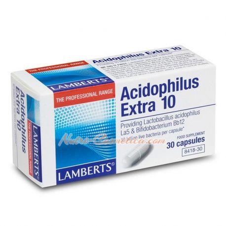 LAMBERTS – ACIDOPHILUS EXTRA 10 (FLORA INTESTINAL)