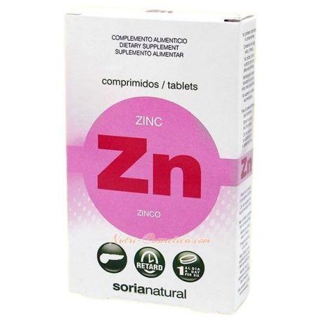 SORIA NATURAL – ZINC TABLETS (Insuline & Aging)