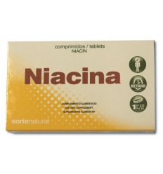 SORIA NATURAL – NIACIN (Vitamin B3)