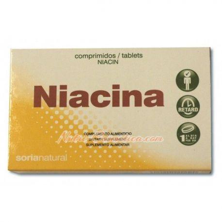 SORIA NATURAL – NIACINA (COLESTEROL- VÉRTIGOS-ACNÉ)