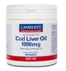 LAMBERTS – COD LIVER OIL (Omega 3)