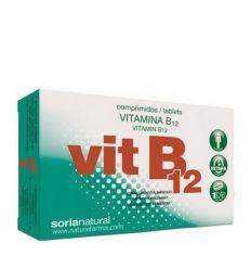 SORIA NATURAL – VITAMINA B 12 (Cobalamin)