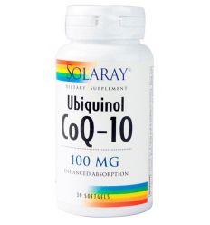 SOLARAY – UBIQUINOL COENZIMA Q10 (Rejuvenecedor)