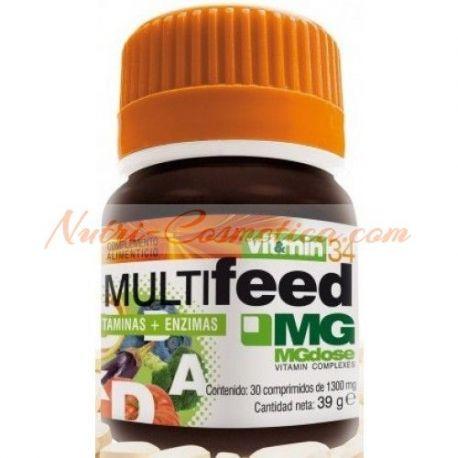 MGDOSE - MULTI FEED (Vitaminas + Enzimas)
