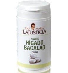ANA MARÍA LAJUSTICIA – ACEITE DE HÍGADO DE BACALAO (vitaminas)