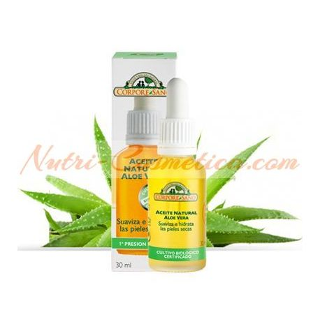 CORPORE SANO – ALOE VERA NATURAL OIL (Facial Moisturizing)