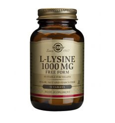 SOLGAR – L-LYSINE 1000 mg (Growing & Cold Sores)