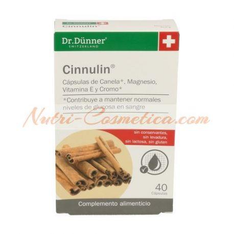 DR.DUNNER - CINNULIN (CANELA) 40 Caps.